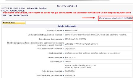 Aclaracion Portal de Obligaciones de Transparencia