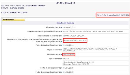 Sergio Portal de Obligaciones de Transparencia