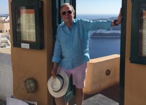 "11 Joaquín López Dóriga on Instagram ""Saludos desde Santorini"""