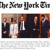 El NYTimes respaldo reportaje sobre Beltrones y el narco: Periodista ganador del premio Pulitzer