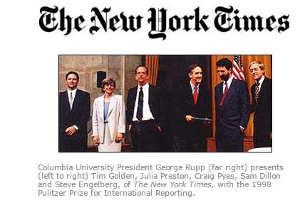The Pulitzer Prizes   Citation