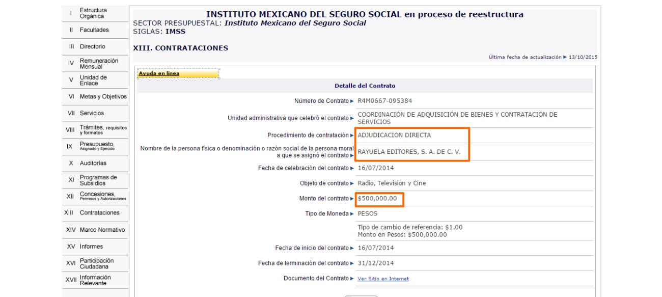 Jorge Fdz Menendez- Portal de Obligaciones de Transparencia