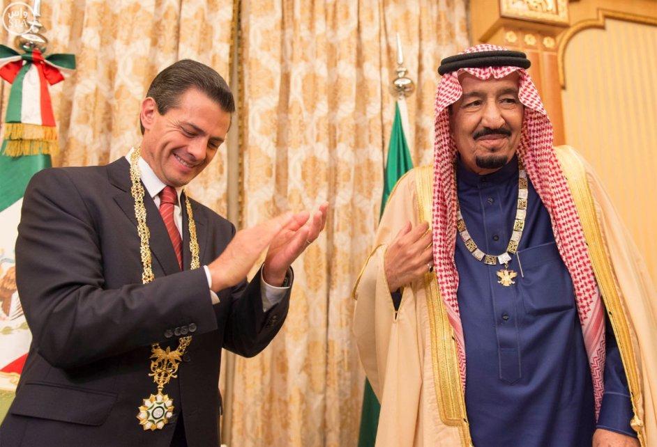 EPN-Rey Saudi