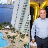 """(Video) Una mansión espectacular y un lujoso penthouse de 2 pisos frente al mar, el """"retiro"""" de Genaro García Luna en Miami"""