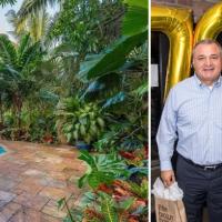 """Una mansión espectacular y un lujoso penthouse de 2 pisos frente al mar, el """"retiro"""" de Genaro García Luna en Miami"""