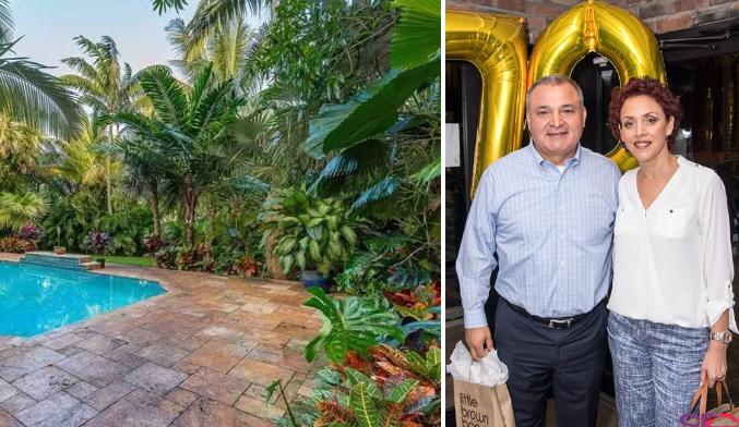 """Una mansión espectacular y un lujoso penthouse de 2 pisos frente al mar, el  """"retiro"""" de Genaro García Luna en Miami – enlapolitika.com"""