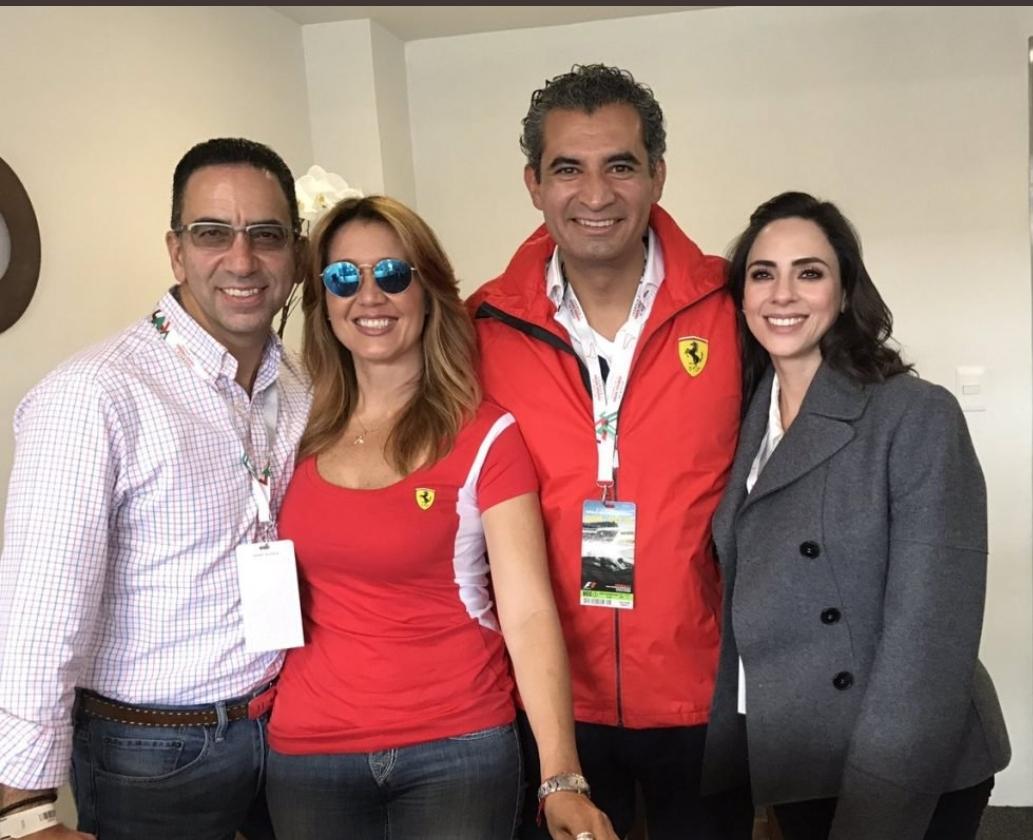 Javier Lozano y Enrique Ochoa Fórmula 1