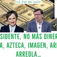 #LaVozDeJulio Sr. Presidente, NO más DINERO a @Televisa, @Azteca, @ImagenTVMex, @AristeguiOnline, @FedericoArreola…