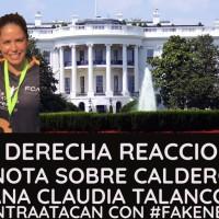 La Derecha enfureció, tras revelar que @FelipeCalderon se llevó a la Casa Blanca a una actriz