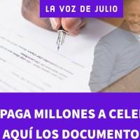 DOCUMENTOS de los SUELDAZOS MILLONARIOS de @GarciaPosti y @GalileaMontijo en @latinus_us