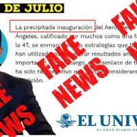 """. @MarioMal Columnista de el Universal y empleado del """"Rey del Outsourcing"""", DIFUNDE información FALSA"""