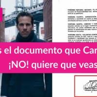 Documento que vincula a @CarlosLoret de Latinus con @PatyOlamendi exfuncionaria de Fox y que ¡NO! quiere que veas