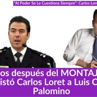 Tras MONTAJE, Así Entrevistó @CarlosLoret a Luis Cárdenas Palomino #AlPoderSeLeCuestionaSiempre