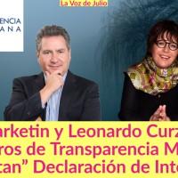 """Los periodistas @warkentin y  @LeonardoCurzio de Transparencia Mexicana, """"Ocultan"""" Declaración de Intereses"""