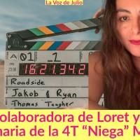 """Ex colaboradora de Carlos Loret y hoy funcionaria de la 4T """"Niega"""" Montaje"""