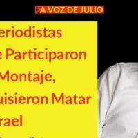 """Loret y periodistas que participaron en Montaje, """"Quisieron MATAR a Israel Vallarta"""": Laura Ramos"""
