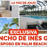 Exclusiva: El Rancho de Inés Gómez Mont y Esposo en Palm Beach, Florida